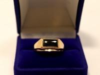 Кольцо с/к Золото 585 (14K) вес 3.63 гр.