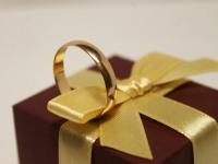 Кольцо обруч Золото 585 (14K) вес 2.82 г