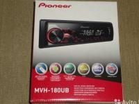 Автомагнитола Pioneer MVH-180UB