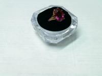 Кольцо с рубином Золото 585 (14K) вес 5.55 г