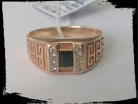 Кольцо Золото 585 (14K) вес 7.21 гр.