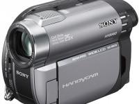 Видеокамера sony dcr-dvd710