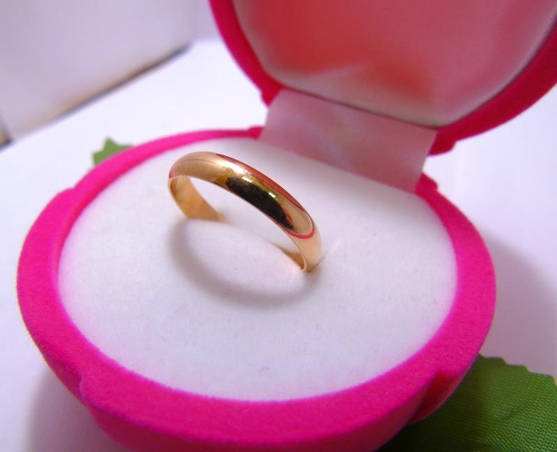 Кольцо С 75 Золото 585 (14K) вес 3.10 гр.