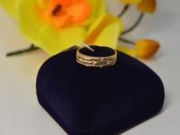 Кольцо с камнем Золото 585 (14K) вес 3.05 гр.