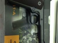 """Пневматический пистолет """"Gletcher CLT 1911-A"""" cal. 6mm"""