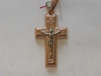 Крест ск. Золото 585 (14K) вес 2.68 гр.