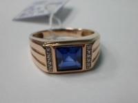 Кольцо с камнем Золото 585 (14K) вес 5.20 г