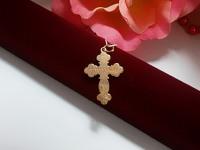 Крест 2Н 5717 Золото 585 (14K) вес 1.69 г