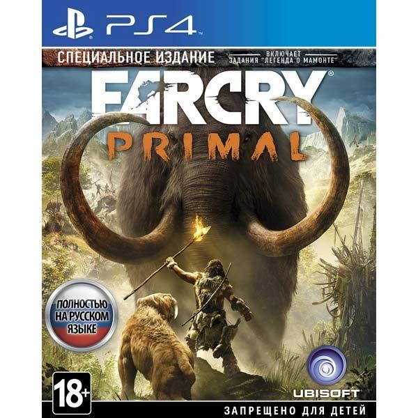 Диск PS4 Far Cry Primal. Специальное издание