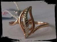 Кольцо Золото 585 (14K) вес 1.99 гр.