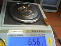 Цепочка Золото 585 (14K) вес 6.57 гр.