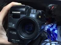 Видеокамера старая samsung