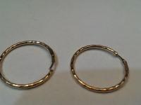 Серьги Золото 585 (14K) вес 1.03 гр.