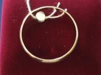 Кольцо об. Золото 585 (14K) вес 1.82 г