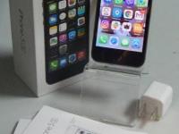 Телефон iPhone 5S 16Gb (в коробке, инструкция, коробочка от наушников, блок зарядного)