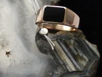 Кольцо муж. 22,3  р Золото 585 (14K) вес 6.96 гр.