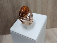 Кольцо с камнем Золото 585 (14K) вес 3.71 г