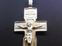 Крест Серебро 925 вес 3.48 г