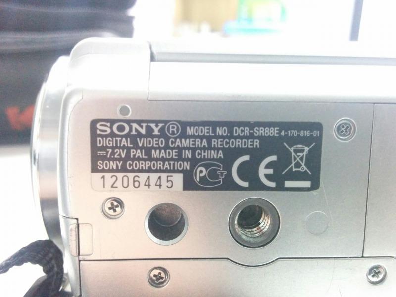 Видеокамера Sony Handycam DCR-SR88