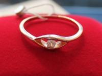 Кольцо  ск Золото 585 (14K) вес 1.70 гр.