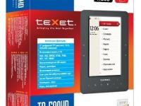 Электронная книга Texet TB-500HD