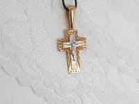 Крест Золото 585 (14K) вес 2.65 г