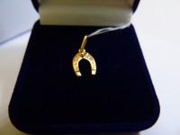 Кулон 4Н 198 Золото 585 (14K) вес 1.12 гр.