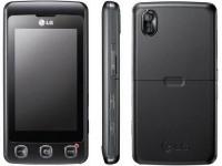 Телефон LG KP 500 black