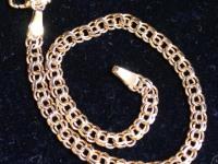 Браслет 19 см. Золото 585 (14K) вес 4.53 гр.