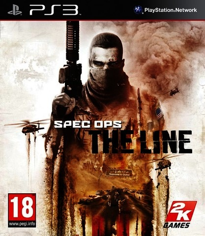 Диск PS3 Spec Ops: The Line