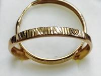 Серьги Золото 585 (14K) вес 2.68 г
