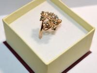 Кольцо с/к Золото 585 (14K) вес 4.32 г