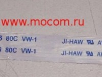 Шлейф ji-haw awm e118077 2896 80c 30v vw-1 для ноутбука asus 1225c