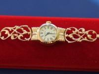 Часы '' Чайка'' Золото 585 (14K) вес 17.64 г