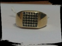 Кольцо Золото 585 (14K) вес 6.55 гр.