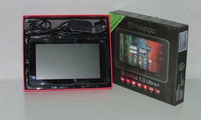 Планшет Prestigio Multipad PMP3670B, коробка, зарядное, инструкция.