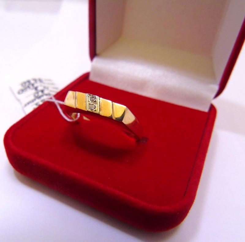 Кольцо 1П 795 Золото 585 (14K) вес 4.20 гр.
