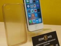 Смартфон Apple iPhone 4S 8GB трубка в чехле
