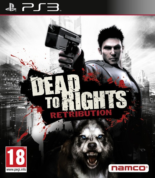 Диск PS 3 Dead to Rights Retribution