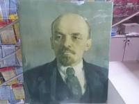 Портрет В.И.Ленина 1978г.