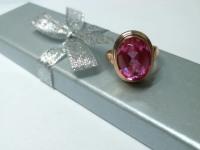 Кольцо с рубином Золото 585 (14K) вес 6.65 г