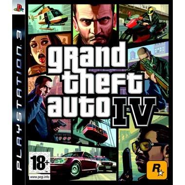Диск PS 3 GTA IV