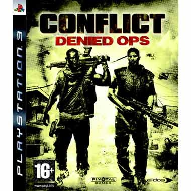 Диск PS3 Conflict: Denied Ops