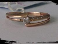 Кольцо Золото 585 (14K) вес 1.56 гр.