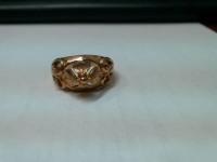 Кольцо цветок Золото 585 (14K) вес 5.13 г