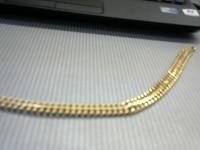 Браслет Золото 585 (14K) вес 17.48 г