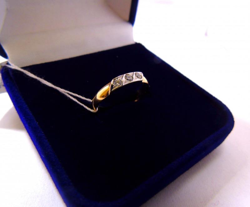 Кольцо 1Н 5804 Золото 585 (14K) вес 1.20 гр.