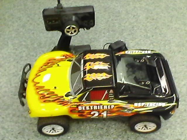 Радиоуправляемая машина ралли-кросс HSP Desert Electric Off-Road Rally Car