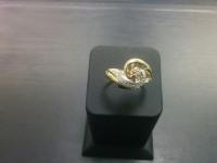 Кольцо Золото 585 с бр 3000 585 вес 2.98 г