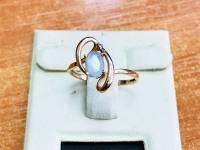 Кольцо Золото 585 (14K) вес 1.40 г